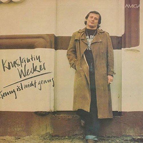 Wecker , Konstantin - Genug ist nicht genug (AMIGA) (Vinyl)