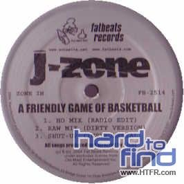 J-Zone - A Friendly Game Of Basketball (12'') (Maxi) (Vinyl)