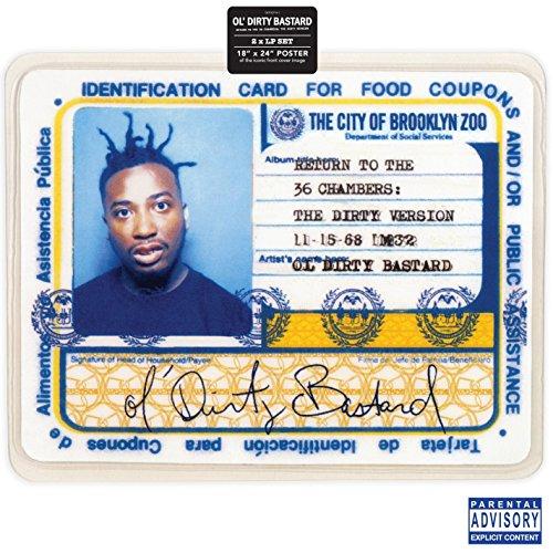 Ol' Dirty Bastard - Return to the 36 Chambers - The Dirty Version  (Vinyl)
