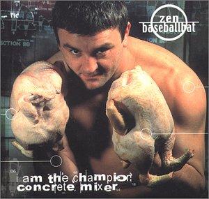 Zen Baseballbat - I am the Champion Concrete Mix