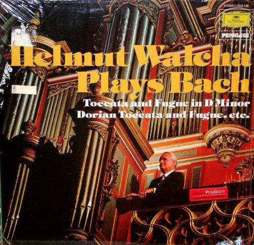 Walcha , Helmut - Bach: Toccata D-Moll / Dorische Toccata / Präludium Es-Dur / Fantasien (an der Grossen Orgel der St. Laurenskerk, Alkmaar) (Vinyl)