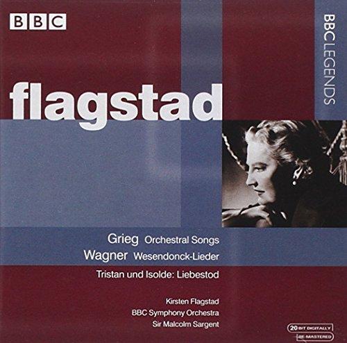 Flagstad , Kirsten - Grieg: Orchestral Songs / Wagner: Wesendonck-Lieder, Tristan und Isolde: Liebestod (Sargent)