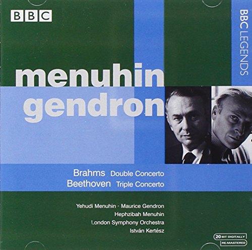 Menuhin , Yehudi & Gendron , Maurice - Menuhin/Gendron/Brahms/+