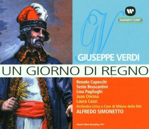 Verdi , Giuseppe - Un Giorno Di Regno (Pagliughi, Simonetto)