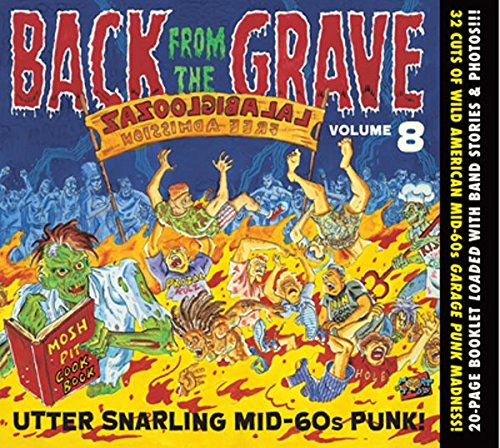 Sampler - Back From The Grave 8 - Utter Snarling Mid-60s Punk!