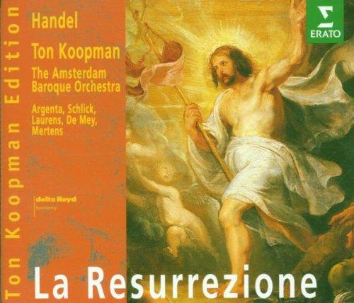 Händel , Georg Friedrich - La Resurrezione (Koopman, Argenta, Schlick, Laurens, De Mey, Mertens) (Ton Koopman Edition)
