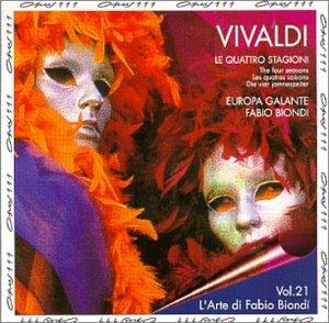 Vivaldi , Antonio - Le Quattro Stagioni (Fabio Biondi)