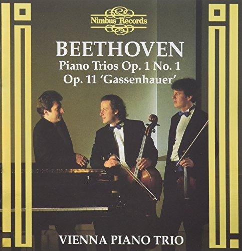 Beethoven , Ludwig van - Piano Trios, Op. 1 No. 1 & Op. 11 'Gassenhauer' (Vienna Piano Trio)