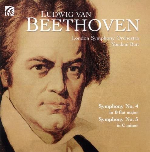 Beethoven , Ludwig van - Symphonies Nos. 4 & 5 (Butt, LSO)