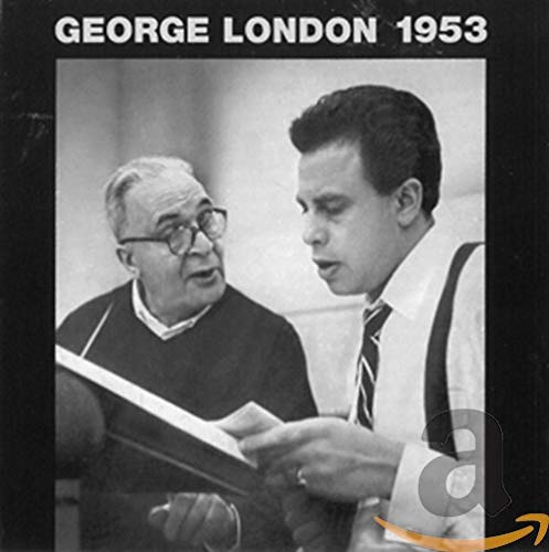 London , George - George London 1953 - Arias From 'Le Nozze Di Figaro (Mozart) / Concert Arias (Mozart)