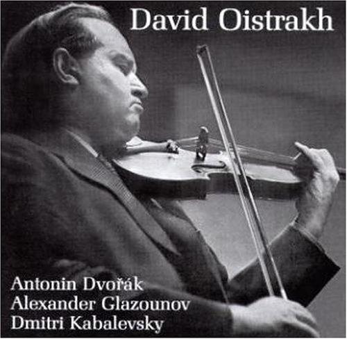 Oistrakh , David - Dvorak / Glazounov / Kabalevsky