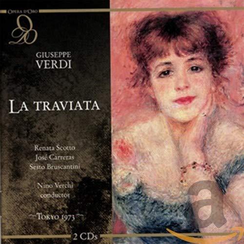 Verdi , Giuseppe - La Traviata (Scotto, Carreras, Bruscantini, Verchi)