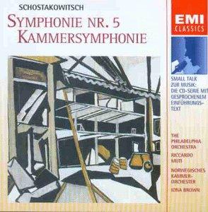 Shostakovich , Dmitri - Symphonie Nr. 5 / Kammersymphonie