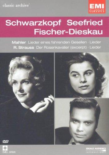 Schwarzkopf / Seefried / Fischer-Dieskau - Mahler: Lieder eines fahrenden Gesellen; Lieder / Strauss: Der Rosenkavalier (Exerpt); Lieder