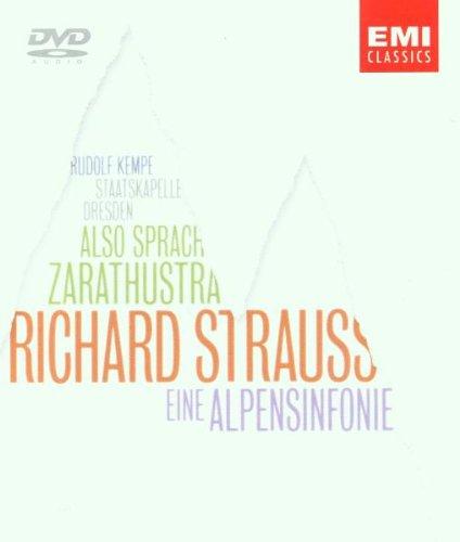 Strauss , Richard - Also sprach Zarathustra / Eine Alpensinfonie (Kempe, Staatskapelle Dresden) (DVD-Audio)