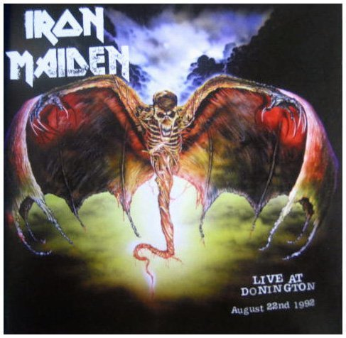 Iron Maiden - Live at Donigton, August 22nd 1992 (Enhanced Edition)