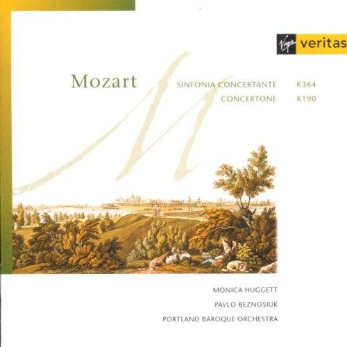 Mozart , Wolfgang Amadeus - Sinfonia Concertante, K. 364 / Concertone, K. 190 (Huggett, Beznosiuk)