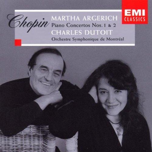 Argerich , Martha & Dutoit , Charles - Chopin: Klavierkonzerte 1 und 2