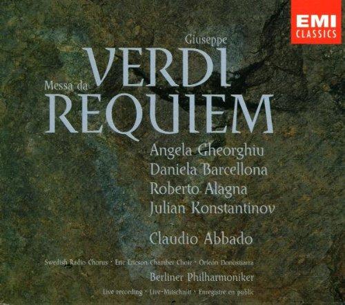 Verdi , Giuseppe - Requiem (Messa da)(Gheorghiu, Abbado)