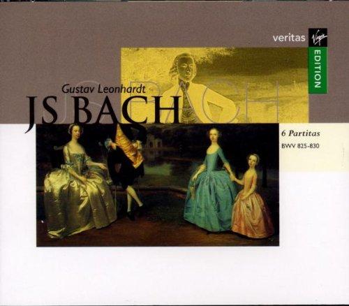 Bach , Johann Sebastian - 6 Partitas, BWV 825-830 (Leonhardt)