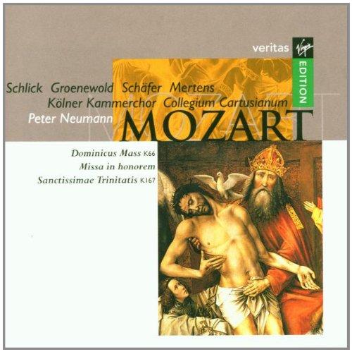 Mozart , Wolfgang Amadeus - Dominicus Mass K66 / Missa In Honorem Sanctissimae Trinitatis K167 (Schlick, Groenewold, Schäfer, Mertens)