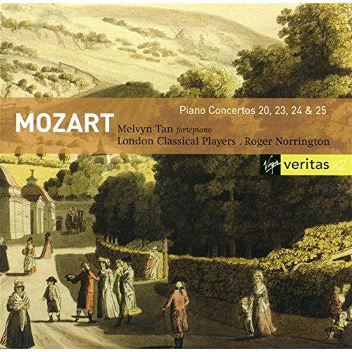 Mozart , Wolfgang Amadeus - Piano Concertos 20, 23, 24 & 25 (Tan, Norrington, London Classical Players)