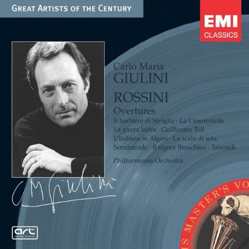 Rossini , Gioacchino - Overtures (Giulini)