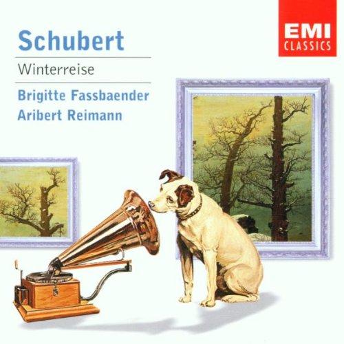 Schubert , Franz - Winterreise (Fassbaender, Reimann)