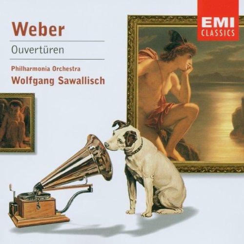 Sawallisch , Wolfgang & Philharmonia Orchestra - Weber: Ouvertüren