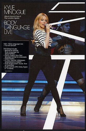 Minogue , Kylie - Body Language Live