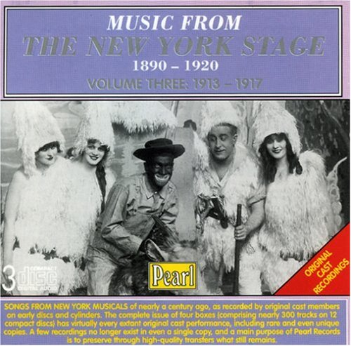 Sampler - Music From The New York Stage 1890-1920 Volume 3 (1913-1917)