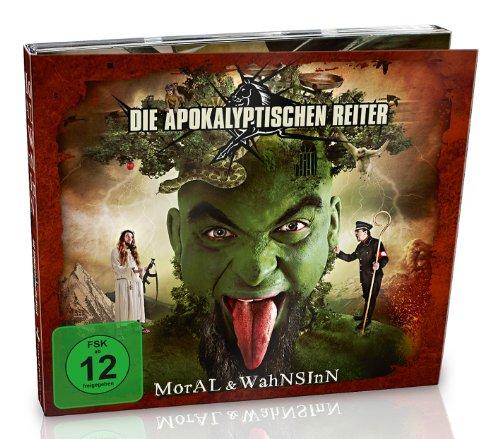 Apokalyptischen Reiter , Die - Moral & Wahnsinn (Limited Edition CD DVD)