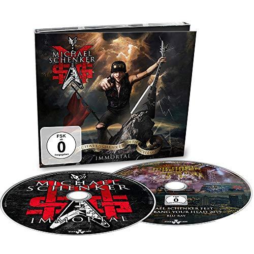 MSG (Michael Schenker Group) - Immortal (Digipak/CD+Blu-Ray)