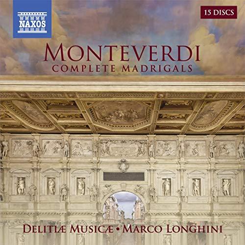 Monteverdi , Claudio - Complete Madrigals Books 1-9 (Delitiae Musicae / Longhini) (15-CD BOX SET)