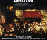 Metallica - No Leaf Clover (Maxi)
