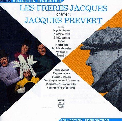 Freres Jacques , Les - Chantent Jacques Prevert