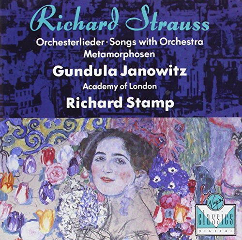 Strauss , Richard - Orchesterlieder / Songs With Orchestra / Metamorphosen (Janowitz, Stamp)