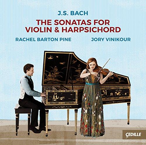 Bach , Johann Sebastian - The Sonatas For Violin & Harpsichord (Barton Pine, Vinikour)