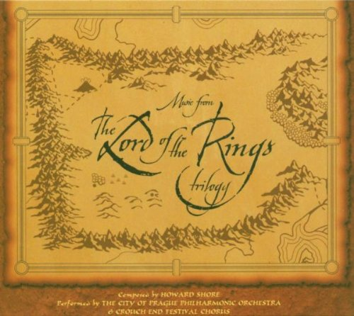 Shore , Howard - Music From The Lord Of The Rings Trilogy (Performed By The City Of Prague Philharmonic Orchestra)