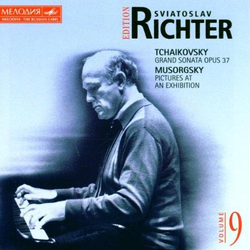 Richter , Sviatoslav - Richter Sviatoslav Edition 9 - Tchaikovsky: Grand Sonata, Op. 37 / Mussorgsky: Pictures At An Exhibition