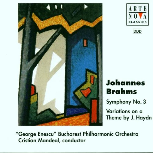 Brahms , Johannes - Symphony No. 3 / Variations On A Theme By Haydn, Op. 56a (Mandeal)