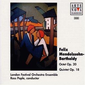Mendelssohn , Felix - Octet, Op. 20 / Quintet, Op. 18 (Pople)