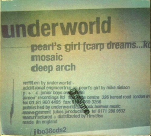 Underworld - Pearl's Girl (Carp Dreams...Koi) (Double Maxi)