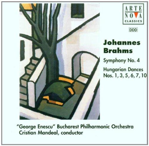 Brahms , Johannes - Symphony No. 4 / Hungarian Dances Nos. 1, 3, 5, 6, 7, 10 (Mandeal)