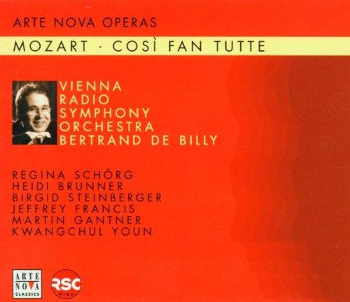 Mozart , Wolfgang Amadeus - Così Van Tutte (Vienna Radio Symphony Orchestra, de Billy) Arte Nova Operas
