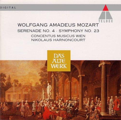 Mozart , Wolfgang Amadeus - Serenade 4/Sinfonie 23