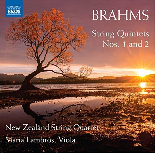 Brahms , Johannes - String Quintets Nos. 1 And 2 (New Zealand String Quartet, Lambros)