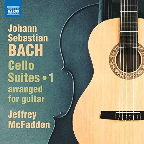 Bach , Johann Sebastian - Cello Suites 1 (Arranged For Guitar) (McFadden)