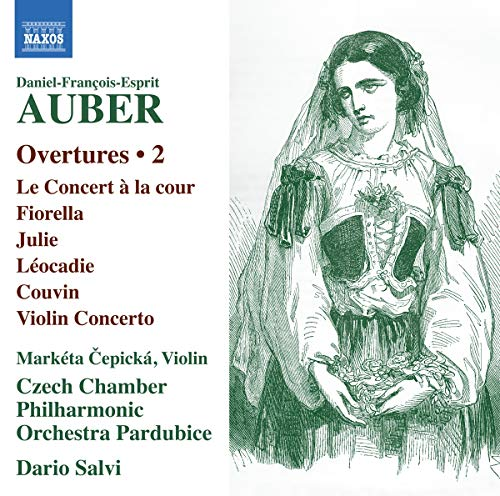 Auber , Daniel-Francois-Esprit - Overtures 2 (Cepicka, Salvi)