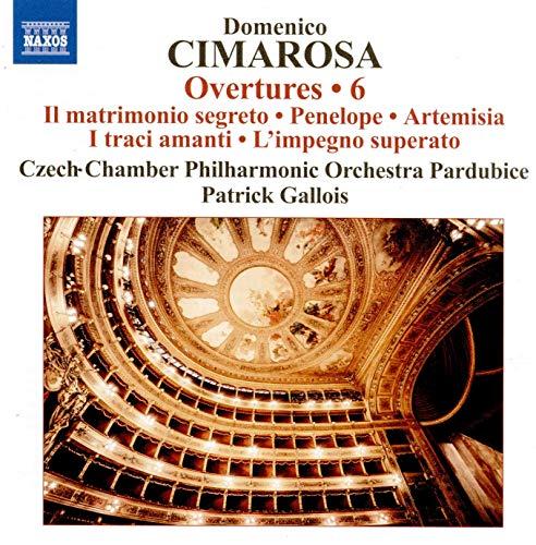 Cimarosa , Domenico - Overtures 6 (Gallois)